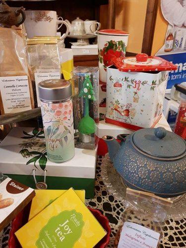 angolo teiera e tè